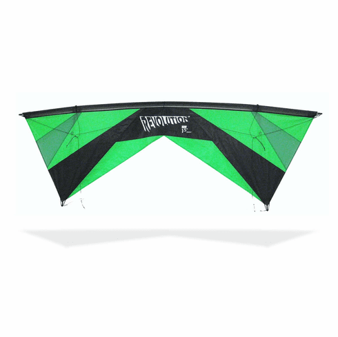 Revolution EXP kite with Reflex Quad Ready to fly With Shanti Lines: