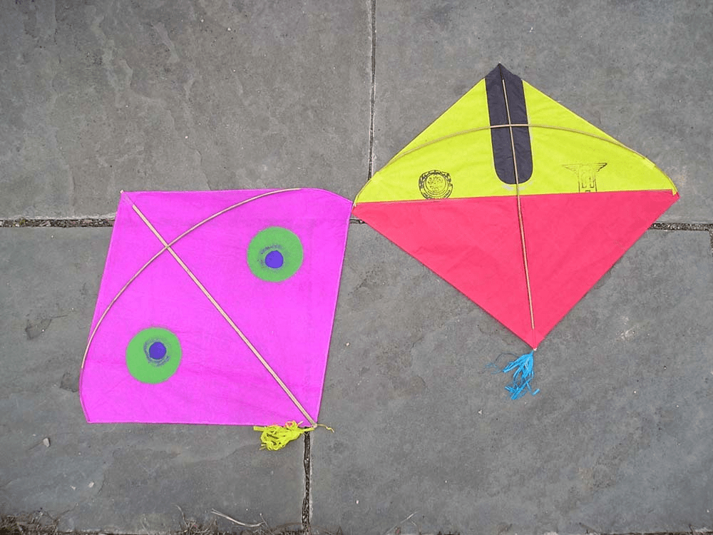 SMALL FIGHTER KITES