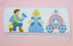 Smocked Cinderella Shirt & Shorts Outft by Anavini | Cinderella, Prince & Carriage