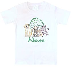Boy's Disney Simba Tree of Life Animal Kingdom Outfit