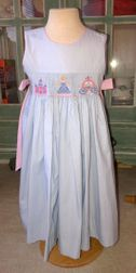 Claire and Charlie Cinderella Carriage and Castle Mary De Dress