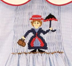 Smocked Mary Poppins Dress | Claire & Charlie | Children's Cottage