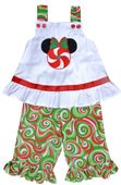 Peppermint Minnie Mouse Dress or Outfit
