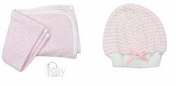 Girl's Pink Knit Bloomers Outfit By Paty, Inc.