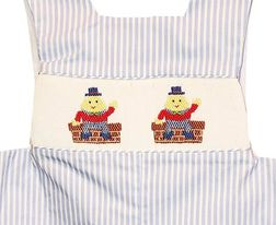 Anavini Smocked Humpty Dumpty John John | Children's Cottage