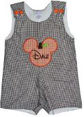 Mickey Mouse Pumpkin Thanksgiving or Halloween Jack-O-Lantern Shirt or Outfit
