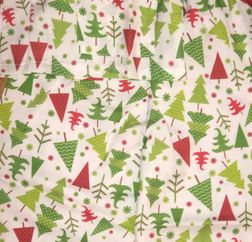All over Christmas Trees Night Gown for Girls