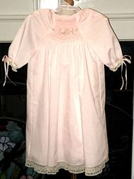 Heirloom Smocked Baby Gown | Christening | Baptism | Children's Cottage