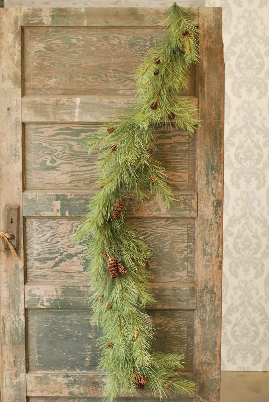 Long Needle Pine Garland - 6 Foot