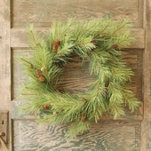"Artificial Wreath - ""Northern Soft Pine Wreath"" - 24"""