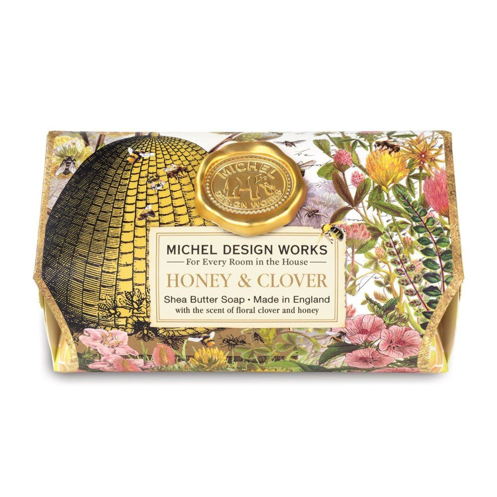 Michel Design Works - Bath Soap - Honey & Clover