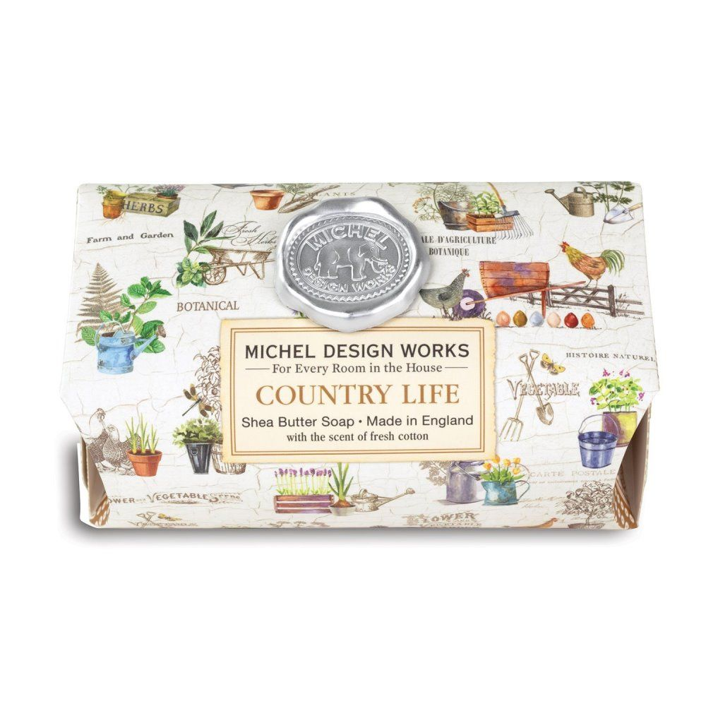 Michel Design Works - Bath Soap - Country Life