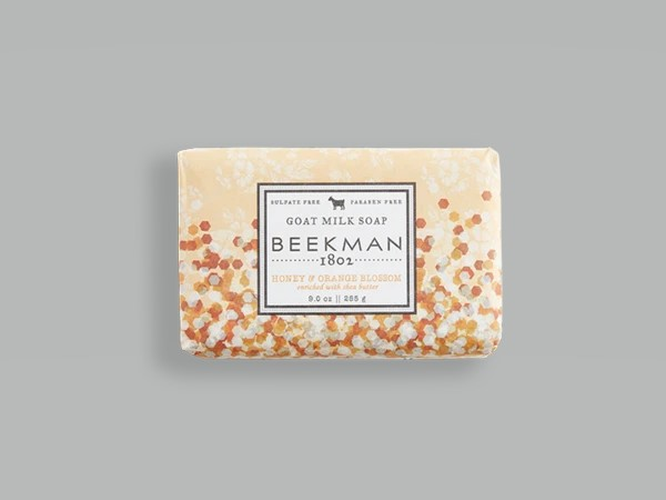 Beekman Soap Bar - Honey Orange Blossom Goat Milk - 9oz