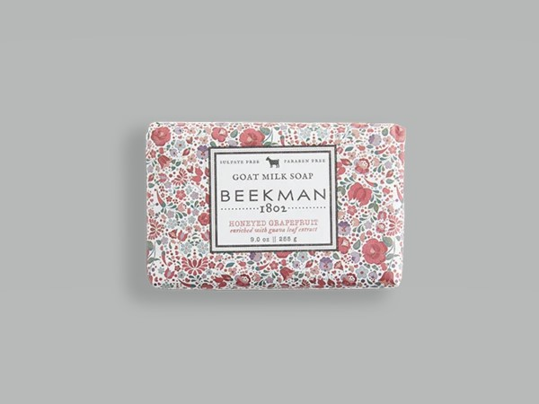Beekman Soap Bar - Honeyed Grapefruit Goat Milk - 9oz