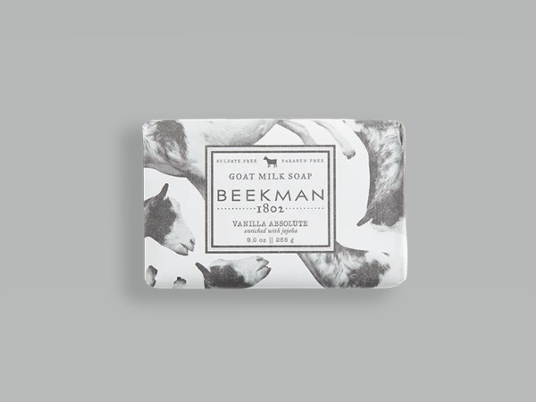 Beekman Soap Bar - Vanilla Absolute Goat Milk - 9oz