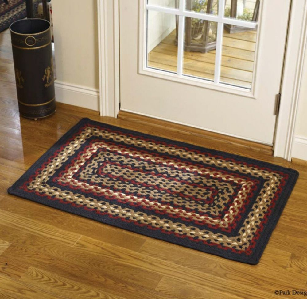 Park Designs Braided Rug - Folk Art - 27in x 45in