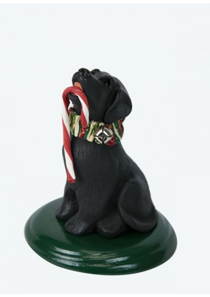 Byers Choice Accessory - Black Labrador 2010
