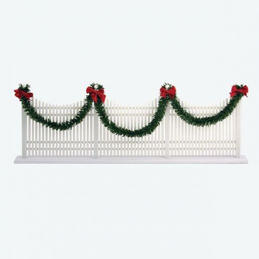 Byers Choice Accessory - Decorative Caroler Picket Fence