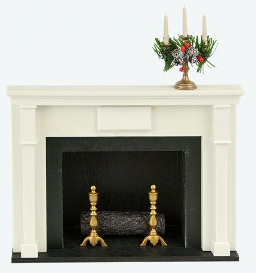 Byers Choice Accessory - Decorative Caroler Fireplace