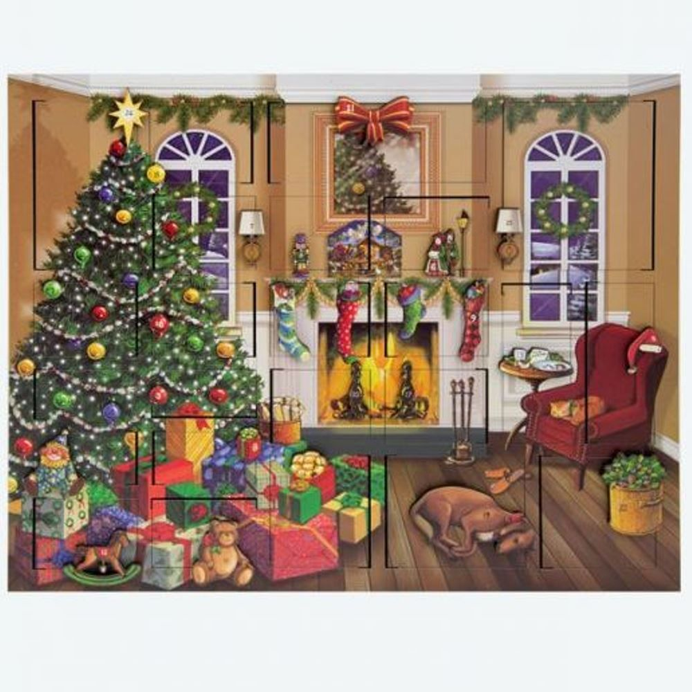 Byers Choice Advent Calendar - Fireside Advent Calendar