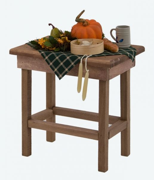 Byers Choice Accessory - Harvest Table 2017