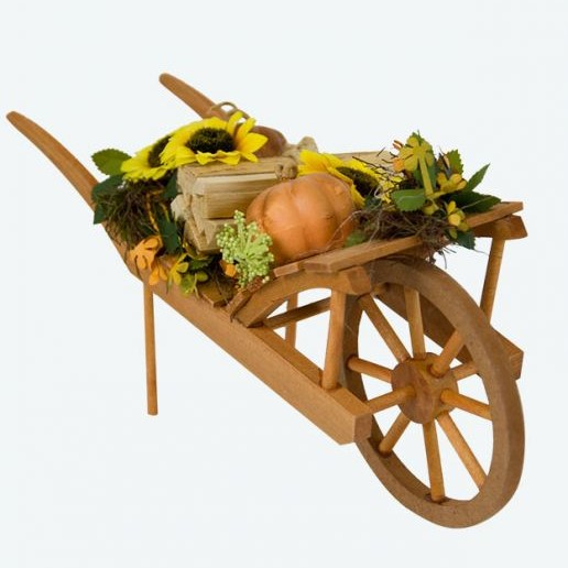 Byers Choice Accessory - Harvest Wheelbarrow