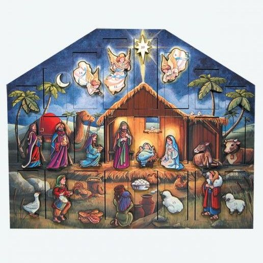 Byers Choice Advent Calendar - Nativity Advent Calendar