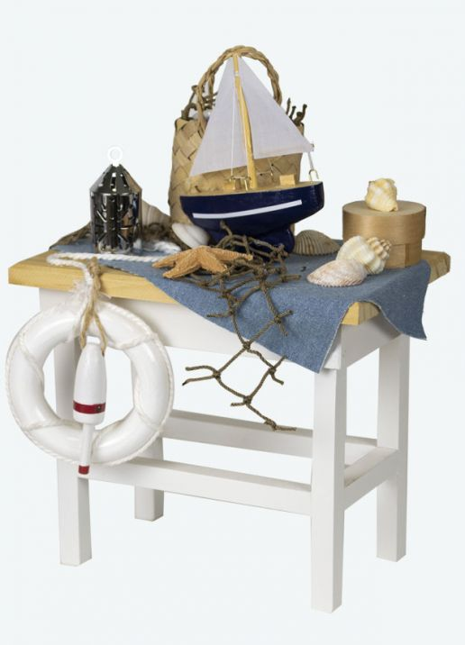 Byers Choice Accessory - Nautical Table 2019