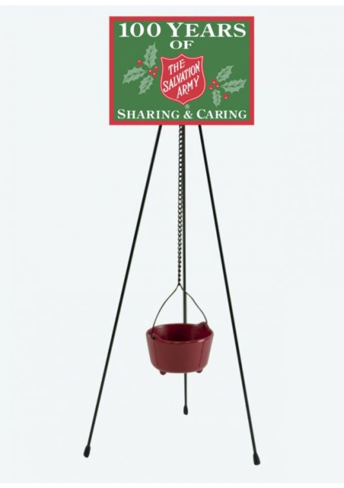 Byers Choice Accessory - Salvation Army Kettle 2019