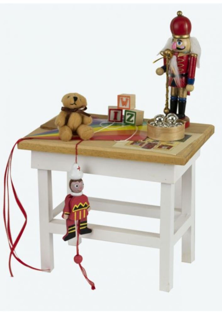 Byers Choice Accessory - Table with Toys 2019
