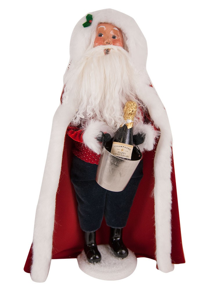"Byers Choice Caroler - ""40th Celebration Santa"" 2018"