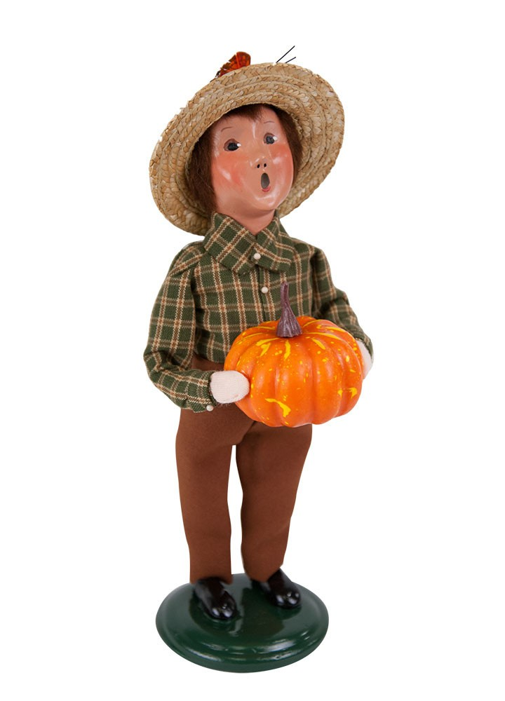 "Byers Choice Caroler - ""Autumn Boy"" 2018"
