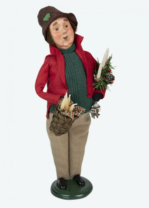 Byers Choice Caroler - Candlestick Maker 2020