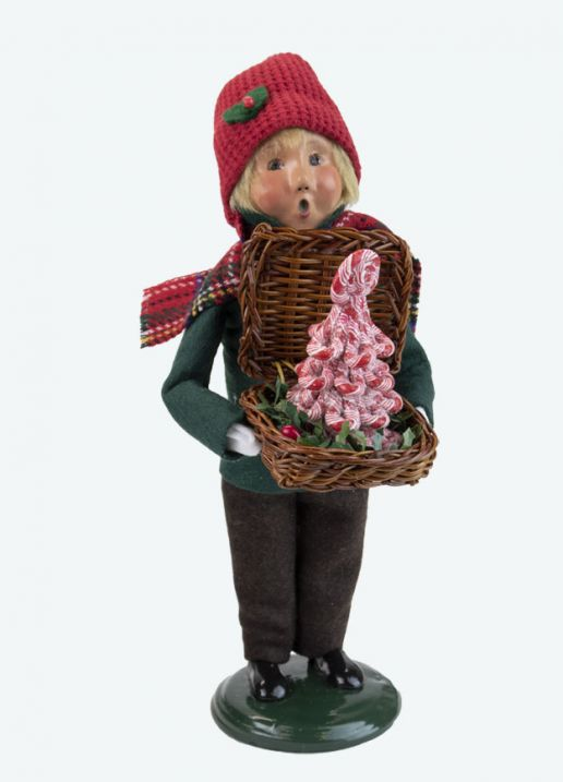 Byers Choice Caroler - Christmas Sweets Boy 2021