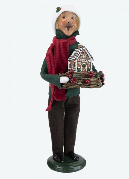 Byers Choice Caroler - Christmas Sweets Man 2021