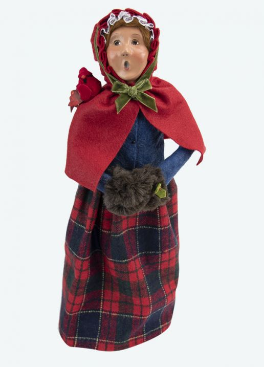 Byers Choice Caroler - Colonial Cardinal Woman 2020