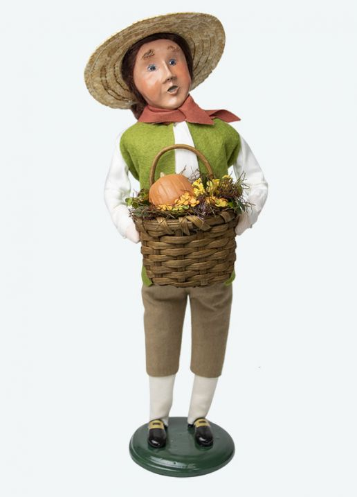 Byers Choice Caroler - Colonial Harvest Man 2020