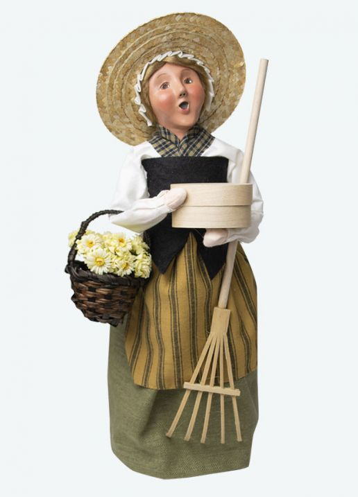 Byers Choice Caroler - Colonial Harvest Woman 2020