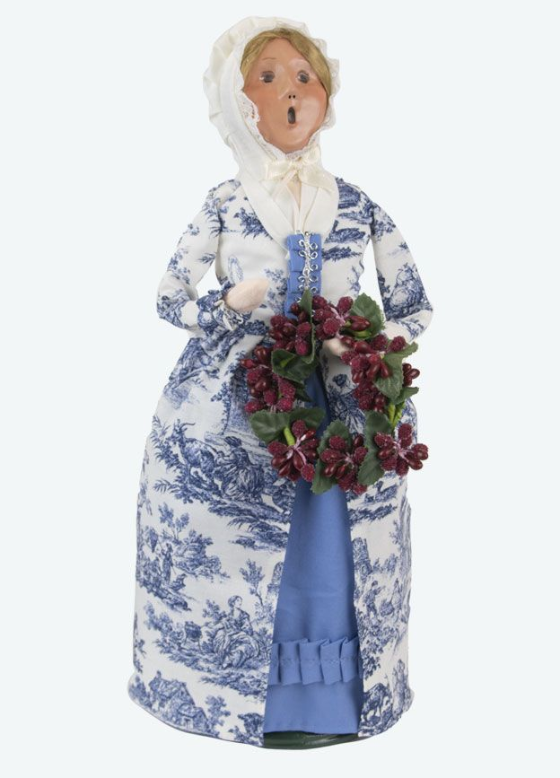 Byers Choice Caroler - Colonial Woman 2021