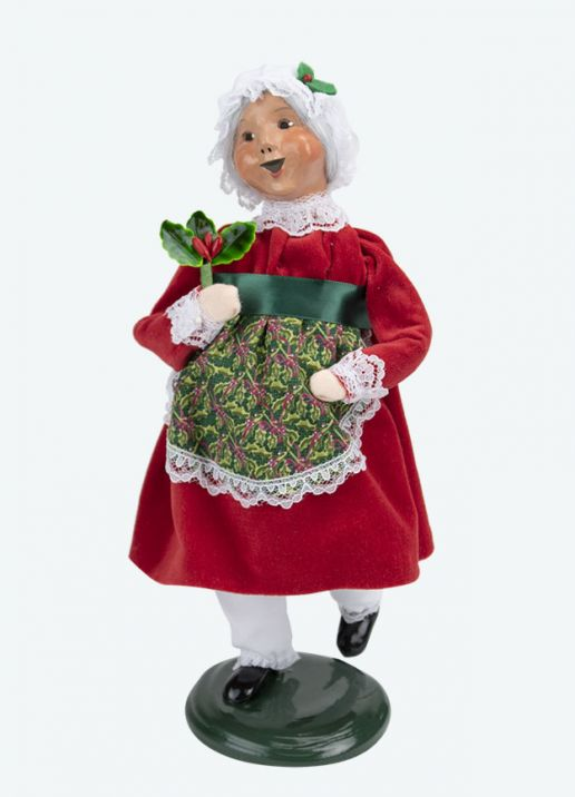 Byers Choice Caroler - Dancing Mrs Claus 2020