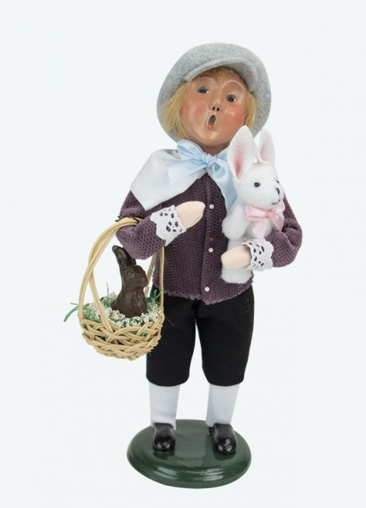 Byers Choice Caroler - Easter Boy 2020