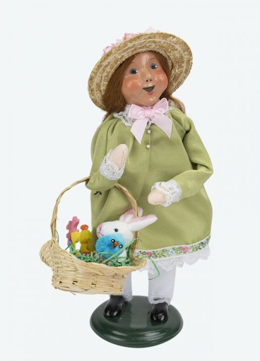 Byers Choice Caroler - Easter Girl 2020