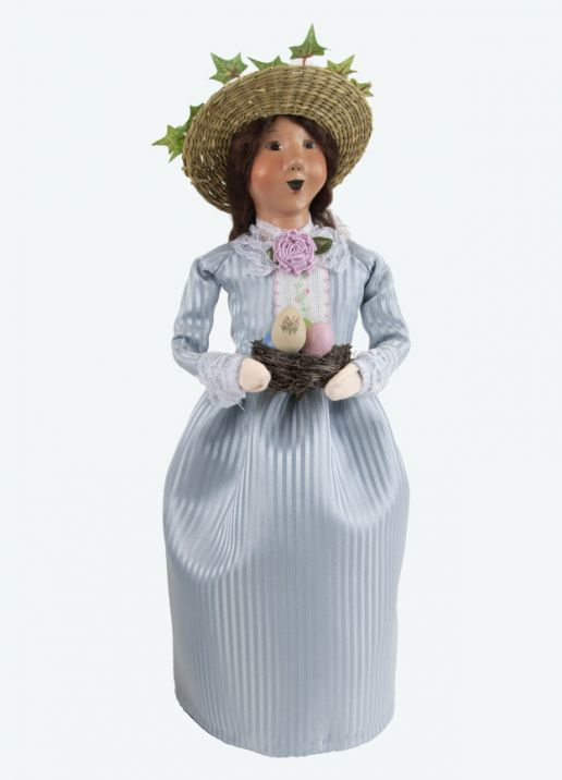 Byers Choice Caroler - Easter Woman 2021