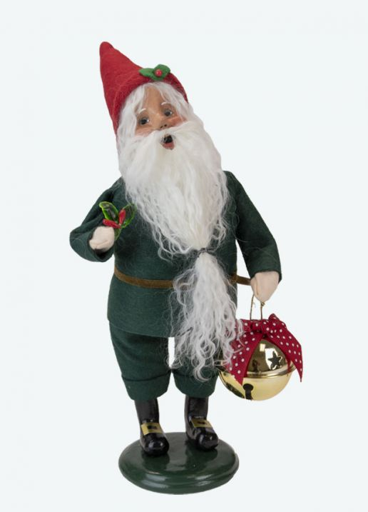 Byers Choice Caroler - Elf with Bell 2021