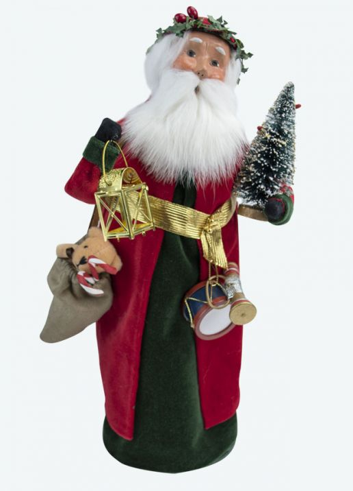 Byers Choice Caroler - English Santa 2020