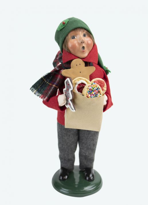 Byers Choice Caroler - Gingerbread Boy 2020