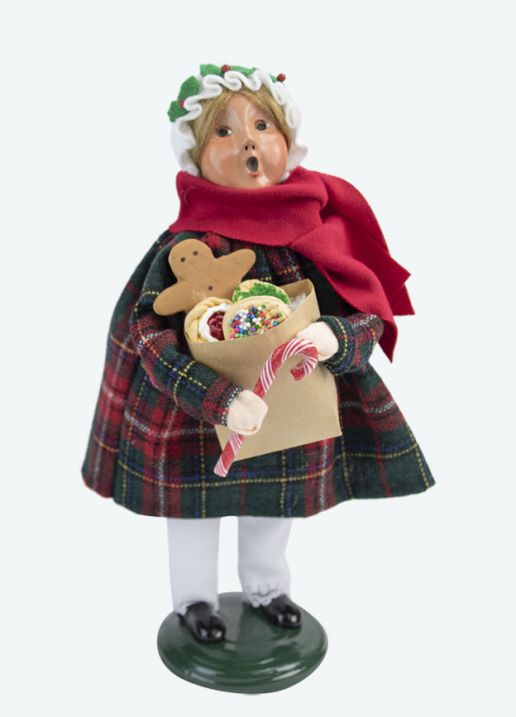 Byers Choice Caroler - Gingerbread Girl 2020