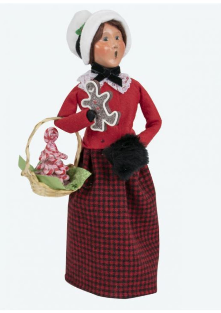Byers Choice Caroler - Gingerbread Woman 2019