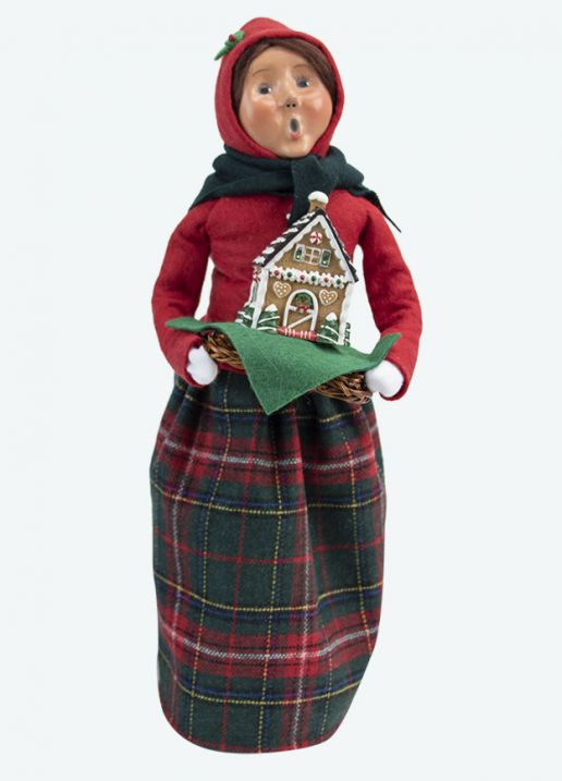Byers Choice Caroler - Gingerbread Woman 2020