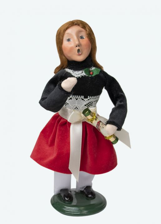 Byers Choice Caroler - Girl with Crackers 2020